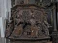 Église Saint-Grat de Conflans (chaire) Evangelists.jpg