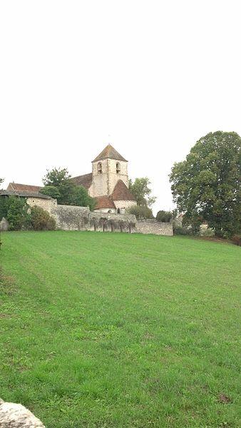 Église Sainte-Brigide d'Yèvre-la-Ville