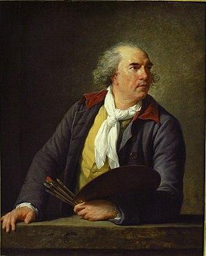 Hubert Robert - Hubert Robert by Élisabeth Vigée-Lebrun (Louvre)