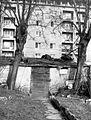 Üllői út, elől a Mária Valéria telep romjai. Fortepan 17255.jpg