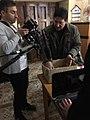 İtaliyalı rejissor Luka FOrtino ilə.jpg