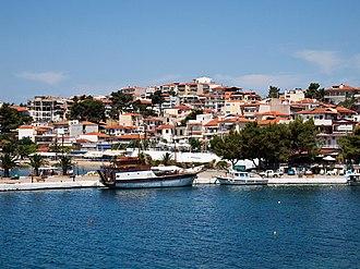 Neos Marmaras - Panoramic view