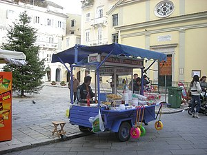 Περιπτεράκι στην πλατεία Ηρώων