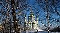 Андріївська церква, вигляд з боку Національного музею історії України.jpg
