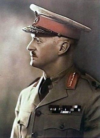 Gordon Bennett (general) - Bennett in 1962