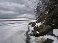 Беріг Трахтемирова взимку.jpg
