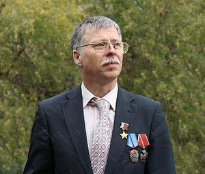 Hero of the Russian Federation - Arktika 2007 expedition member Yevgeny Chernyaev