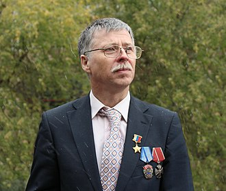 Hero of the Russian Federation - Arktika 2007 expedition member Yevgeny Chernyaev