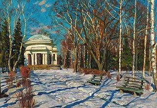 Winter landscape. Vyatka