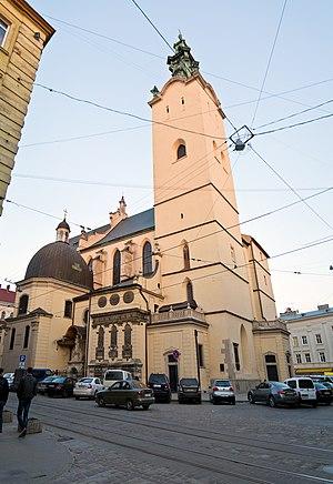 Roman Catholic Archdiocese of Lviv - Image: Латинський кафедральний собор 1