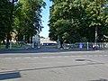 Пушкин, ул. Дворцовая, вход в Александровский парк.jpg