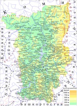 Физическая география Пермского края — Википедия