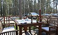"Юрмала (Латвия) Столик на террасе ресторана SPA центра ""БАЛАНС"" (Булдури) - panoramio.jpg"