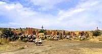 Հայոց այբուբենի հուշարձան, Արտաշավան.JPG