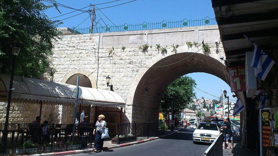 גשר העיר העתיקה - צפת
