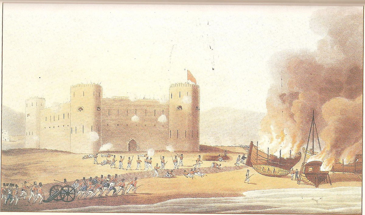 Persian Gulf campaign of 1819 - Wikipedia