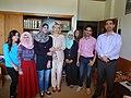 مجموعة عمل الطلبة ضمن برنامج اللغة الروسية في الجامعة الاردنية 02.JPG