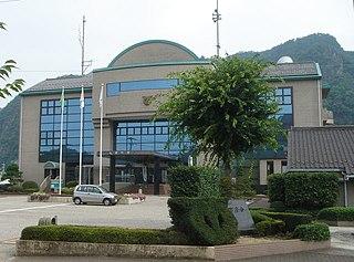 Sakahogi, Gifu Town in Chūbu, Japan