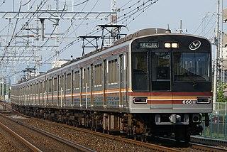 Osaka Municipal Subway 66 series Japanese electric multiple unit train type