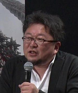 Shinji Higuchi - Image: 東京おもちゃショー2016 バンダイ『S.H.Monster Artsゴジラシリーズ』新商品発表会 樋口真嗣