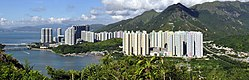 Panoramic view of Tung Chung