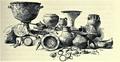 01898 Vorgeschichte Galiziens, Funde .. Skythisch, La Tène und römisch.png