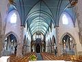032 Châteaulin Eglise Saint-Idunet Vue intérieure d'ensemble La nef.JPG