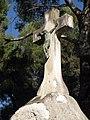 09 Tomba Garcia Humet, crist de Llimona, cementiri de Terrassa.jpg