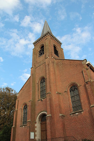 Froidmont (Belgium), the church of Saint Piatus.
