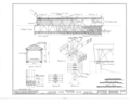 1-2 Roof Plan, 1-2 Floor Plan, Cross Section, Details - Covered Bridge, Spanning Seven Mile Creek, Collinsville, Butler County, OH HABS OHIO,9-COL.V,1- (sheet 2 of 2).png