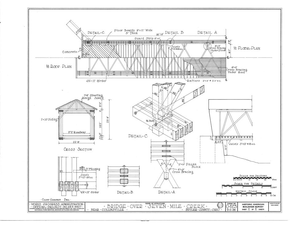 File 1 2 Roof Plan 1 2 Floor Plan Cross Section Details
