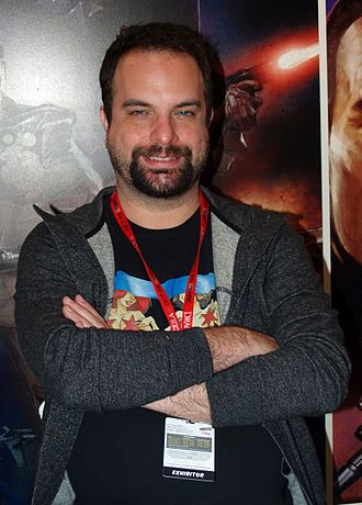 Tim Seeley - Seeley at the New York Comic Con
