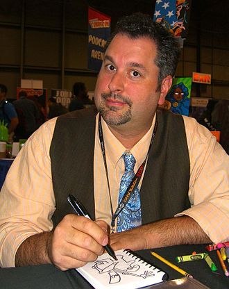 Franco Aureliani - Franco Aureliani at the 2011 New York Comic Con.