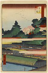 Hachiman Shrine in Ichigaya