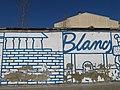 101 Blancs, mural de Pau Sampera al c. Anníbal (Granollers).jpg