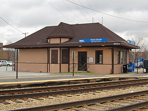 Washington Heights (Metra station) - Image: 103rd Street (Washington Heights) Metra Station