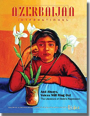 "Azerbaijan International - Vol. 14, No. 1 of the magazine focused on ""Literature of Stalinist Repressions,"" 2006"