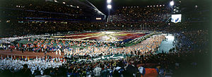 2000 Summer Paralympics - The Australian team at the opening ceremony