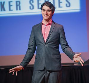 RJ Mitte - RJ Mitte speaking at Texas A&M University–Commerce in April 2015