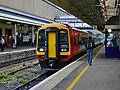 159020 Class159 South West Trains Exeter St Davids (7076206933).jpg