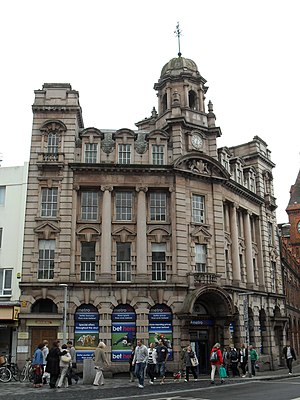 Clayton & Black - The former Royal Assurance Society office in North Street, Brighton, is a pink granite Edwardian Baroque structure.