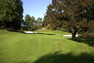 Westchester Country Club - 16th hole, West Course
