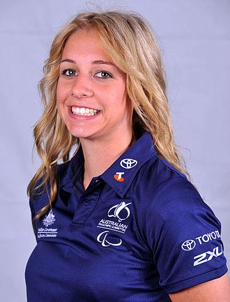 Katy Parrish - 2012 Australian Paralympic Team portrait of Parrish