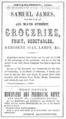 1863 James advert Cambridge Massachusetts.png