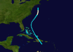 1889 Atlantic hurricane 3 track.png
