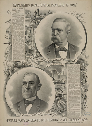 Election Of 1892