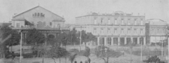1898 Tacon Theater and Inglaterra Hotel in Havana Cuba by Mast Crowell and Kirkpatrick.png