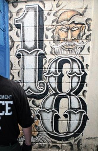 18th Street gang - 18th Street Gang Graffiti