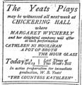 1904 Yeats ChickeringHall BostonGlobe Nov26.png