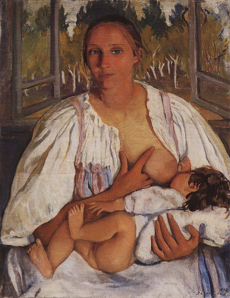 1912. Кормилица с ребенком